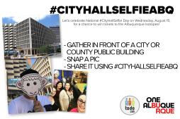 #CityHallSelfieABQ